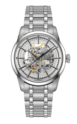 Hamilton American Classic Railroad Skeleton Auto Watch H40655151 product image