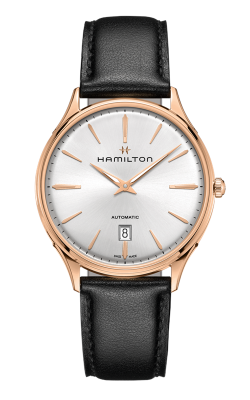 Hamilton Jazzmaster Thinline Gold Watch H38545751 product image