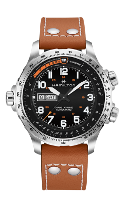 Hamilton Khaki X-Wind Day Date Watch H77755533 product image