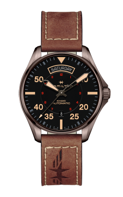 Hamilton Khaki Pilot Day Date Auto Watch H64605531 product image