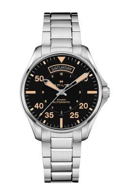 Hamilton Khaki Pilot Day Date Auto Watch H64645131 product image