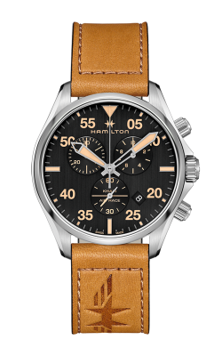 Hamilton Khaki Pilot Chrono Quartz Watch H76722531 product image