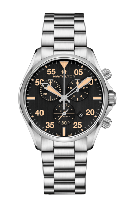 Hamilton Khaki Pilot Chrono Quartz Watch H76722131 product image