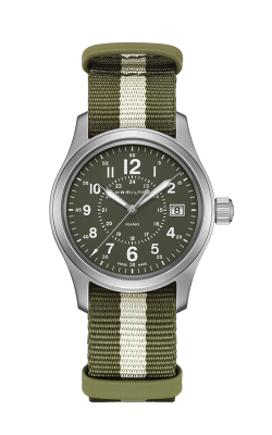 Hamilton Khaki Field Quartz 38mm Watch H68201063 product image