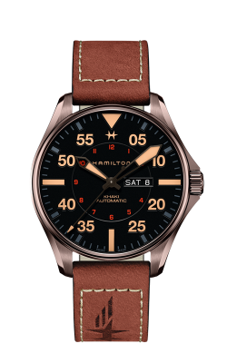 Hamilton Khaki Pilot Day Date Auto Watch H64705531 product image