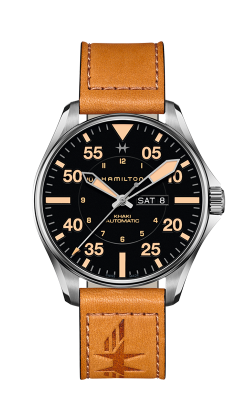 Hamilton Khaki Pilot Day Date Auto Watch H64725531 product image