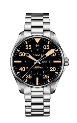 Hamilton Khaki Pilot Day Date Auto Watch H64725131 product image