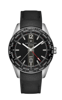 Hamilton Broadway GMT Watch H43725731 product image