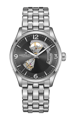 Hamilton Jazzmaster Open Heart Auto Watch H32705181 product image