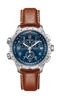 Hamilton Khaki X-Wind GMT Chrono Quartz Watch H77922541 product image