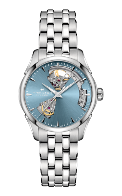 Hamilton Jazzmaster Open Heart Lady Auto Watch H32215140 product image
