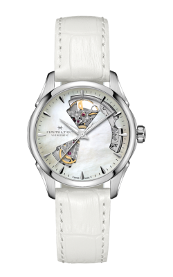 Hamilton Jazzmaster Open Heart Lady Auto Watch H32215890 product image