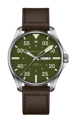 Hamilton Khaki Aviation Pilot Schott NYC - Limited Edition Watch H64735561 product image