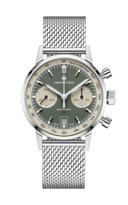 Hamilton American Classic Intra-Matic Auto Chrono Watch H38416160 product image
