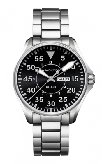 Hamilton Pilot Day Date Quartz Watch H64611135 product image