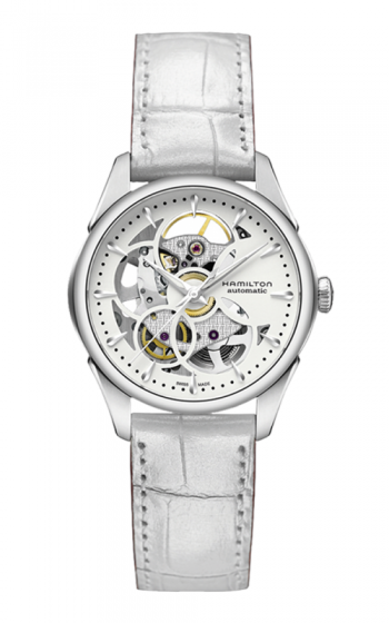 Hamilton Viewmatic Skeleton Lady Auto Watch H32405811 product image