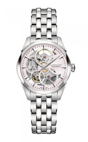 Hamilton Viewmatic Skeleton Lady Auto Watch H32405171 product image