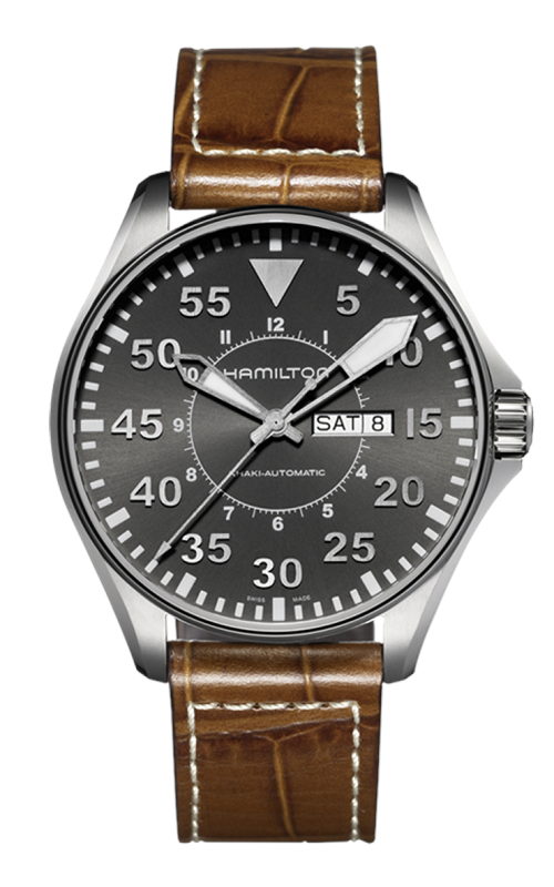 Hamilton Pilot Day Date Auto Watch H64715885 product image