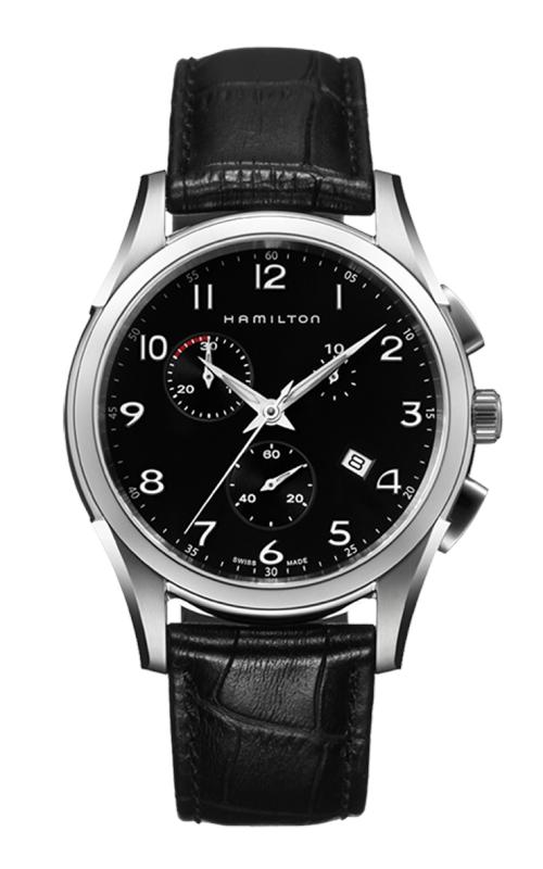 Hamilton Jazzmaster Thinline Chrono Quartz Watch H38612733 product image
