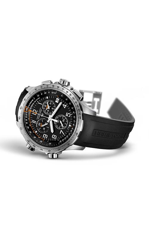 Hamilton X-Wind GMT Chrono Quartz H77912335 2