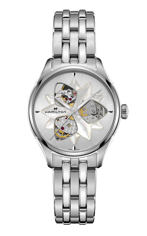 Hamilton Viewmatic Open Heart Lady Watch H32115191 product image
