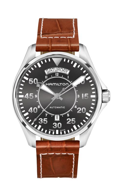 Hamilton Khaki Aviation Pilot Day Date Auto Watch H64615585 product image