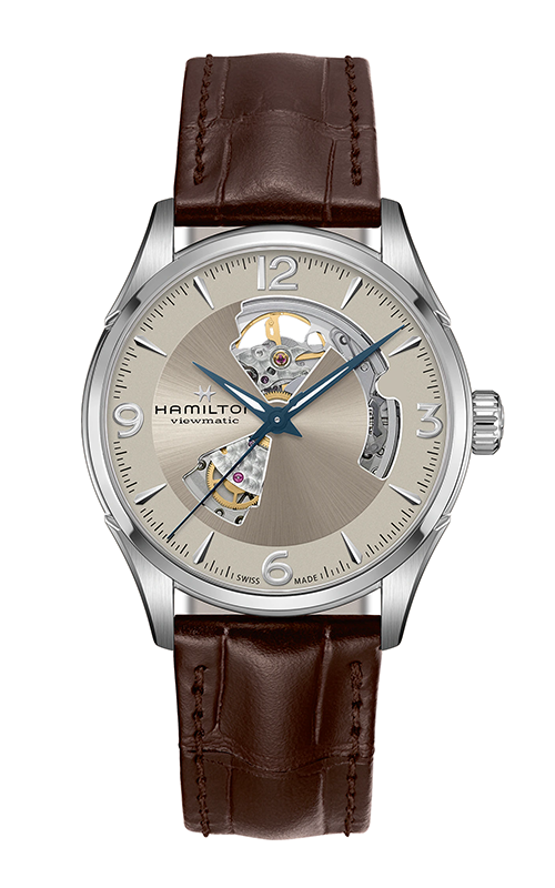 Hamilton Jazzmaster Open Heart Auto Watch H32705521 product image