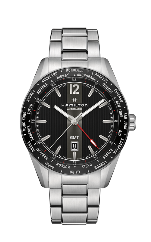 Hamilton Broadway GMT Watch H43725131 product image