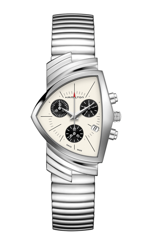 Hamilton Ventura Chrono Quartz Watch H24432151 product image