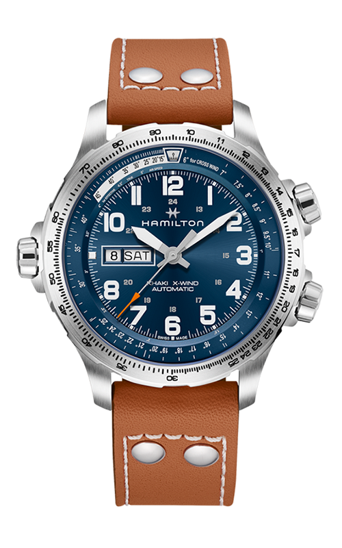 Hamilton Khaki X-Wind Day Date Watch H77765541 product image