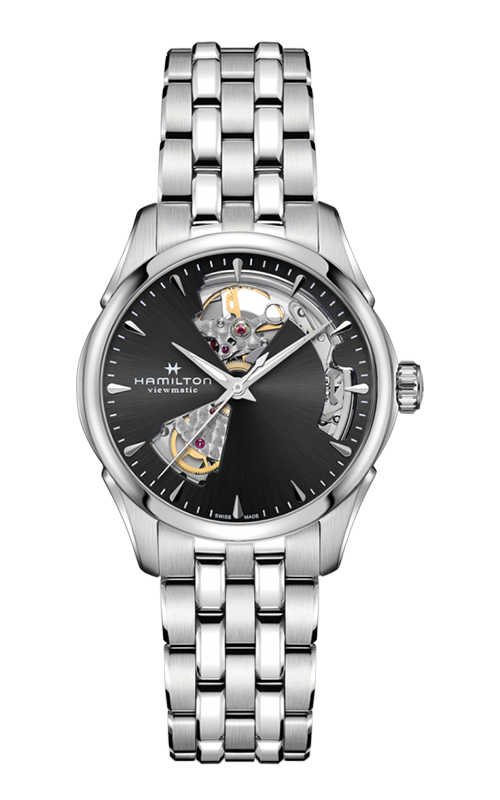 Hamilton Jazzmaster Open Heart Lady Auto Watch H32215130 product image