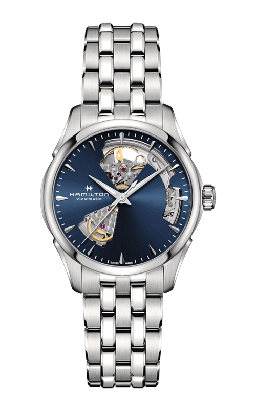 Hamilton Jazzmaster Open Heart Lady Auto Watch H32215141 product image