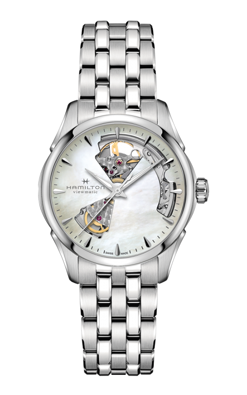 Hamilton Jazzmaster Open Heart Lady Auto Watch H32215190 product image