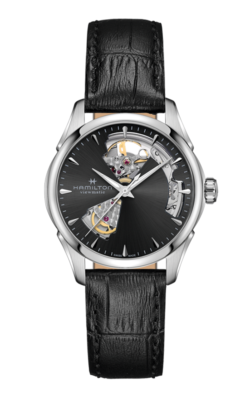 Hamilton Jazzmaster Open Heart Lady Auto Watch H32215730 product image