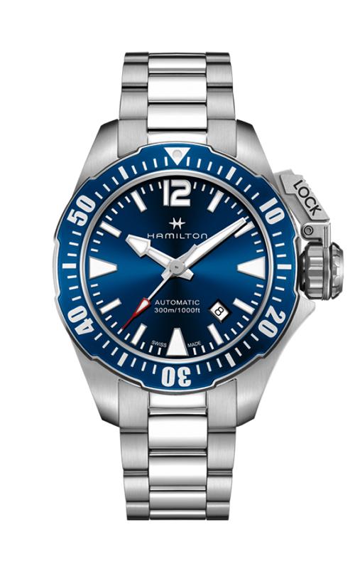 Hamilton Khaki Navy Frogman Auto Watch H77705145 product image