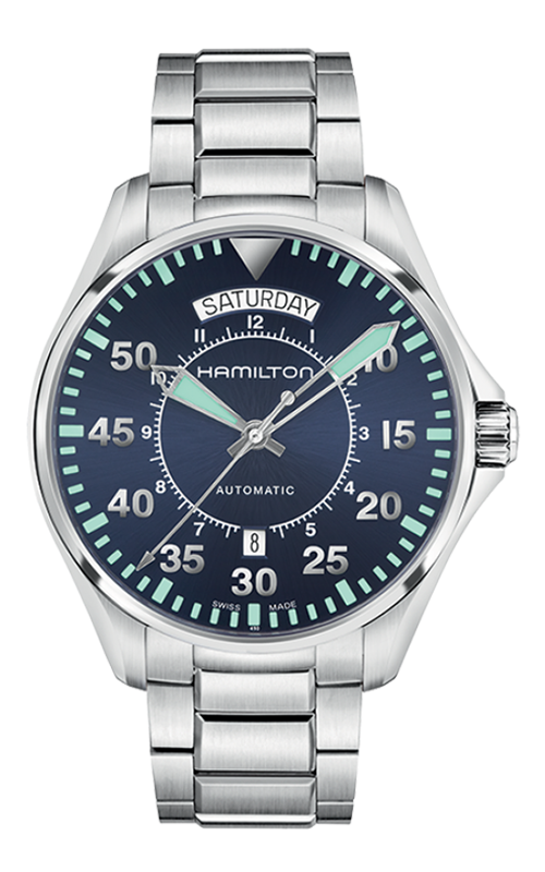 Hamilton Pilot Day Date Auto Watch H64615145 product image