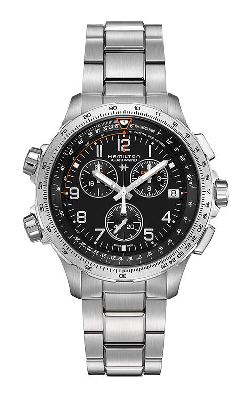 Hamilton X-Wind GMT Chrono Quartz Watch H77912135 product image