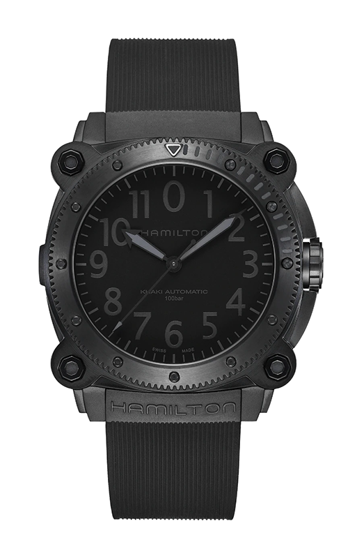 Hamilton Khaki Navy BelowZero 1000M Auto Watch H78505330 product image
