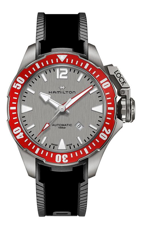 Hamilton Khaki Navy Frogman Auto Watch H77805380 product image