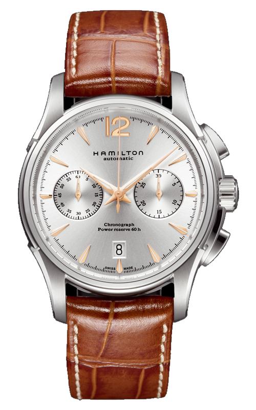Hamilton Jazzmaster Auto Chrono Watch H32606555 product image