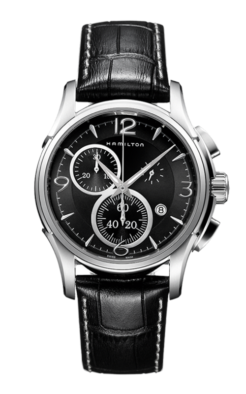 Hamilton Jazzmaster Chrono Quartz Watch H32612735 product image