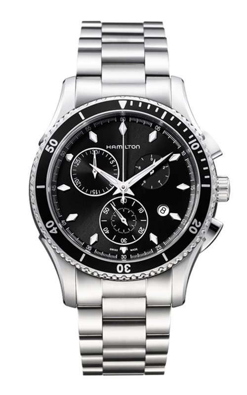 Hamilton Jazzmaster Seaview Chrono Quartz Watch H37512131 product image