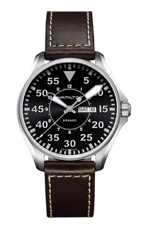 Hamilton Khaki Aviation Pilot Quartz Watch H64611535 product image