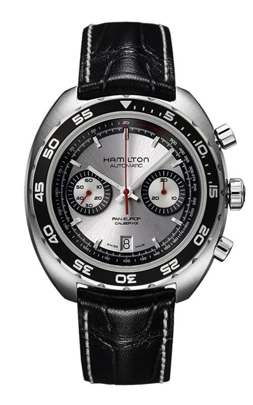 Hamilton American Classic Pan Europ Auto Chrono Watch H35756755 product image