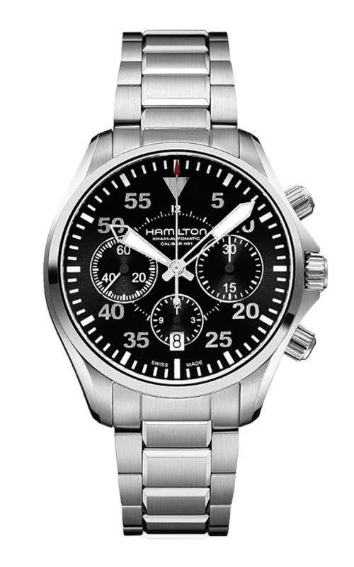 Hamilton Khaki Aviation Pilot Auto Chrono Watch H64666135 product image