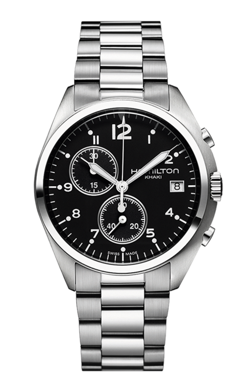 Hamilton Khaki Aviation Pilot Pioneer Chrono Quartz Watch H76512133 product image