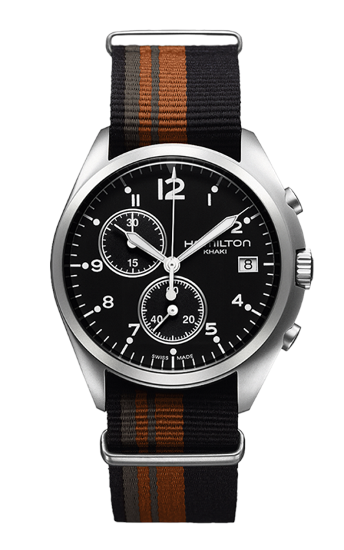 Hamilton Khaki Aviation Pilot Pioneer Chrono Quartz Watch H76552933 product image
