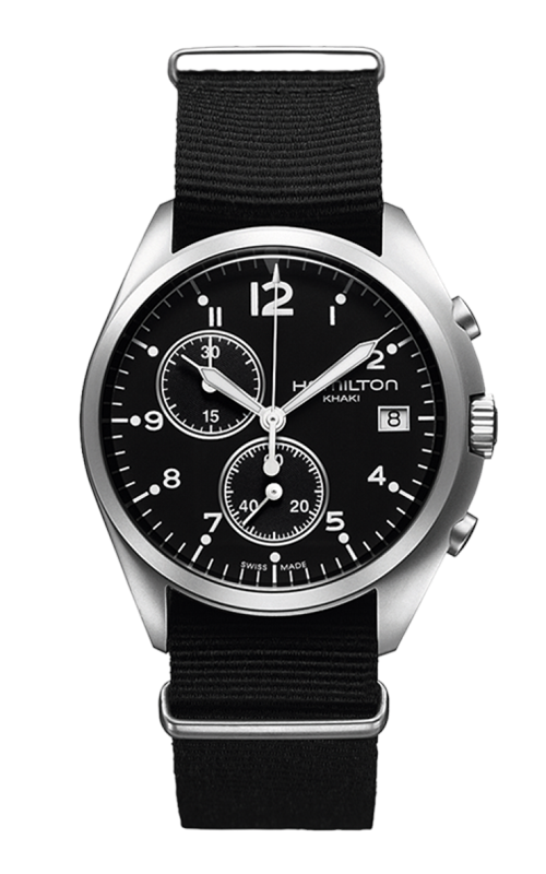 Hamilton Khaki Aviation Pilot Pioneer Chrono Quartz Watch H76552433 product image