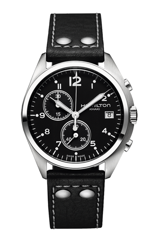 Hamilton Khaki Aviation Pilot Pioneer Chrono Quartz Watch H76512733 product image