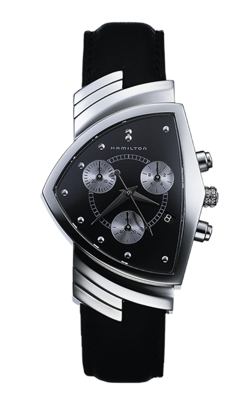 Hamilton Ventura Chrono Quartz Watch H24412732  product image